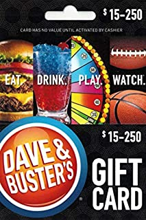 dave and busters fun card