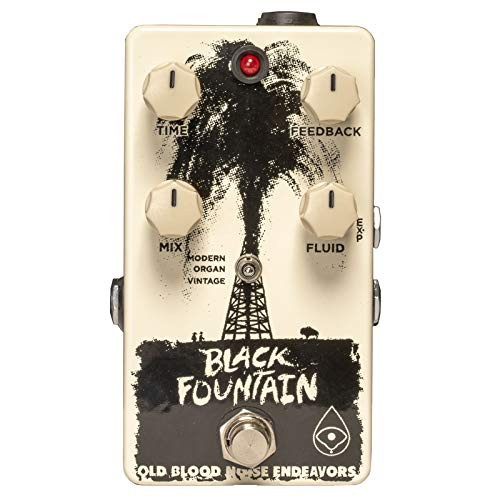 Old Blood Noise Endeavors Black Fountain Oil Can Delay FX Pedal