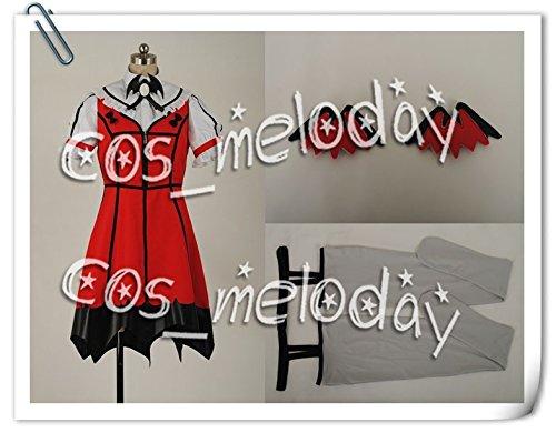 『【女性Mサイズ】★全品5日に発送★アイドルマスターTHE IDOLM@STER 星井美希 四条貴音 風 コスプレ衣装 【cos_vivilee】』の1枚目の画像