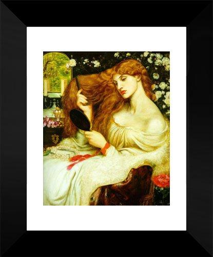 Lady Lilith 15x18 Framed Art Print by Rossetti, Dante Gabriel