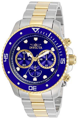 Invicta Pro Diver 30749 - Esfera para hombre (acero inoxidable, 45 mm), color azul