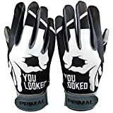 C1COOP You Looked Baseball Batting Gloves (Youth Medium)