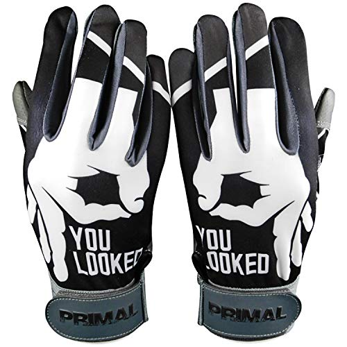C1COOP You Looked Baseball Batting Gloves (Adult Large)