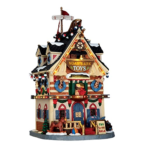 Baldcypress Lemax Christmas Village tama/ño Grande Figura Decorativa