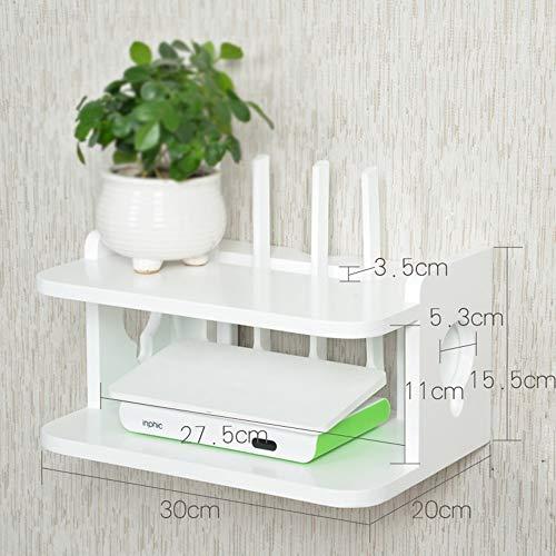plank Massief hout set-top box TV muur kast woonkamer muur slaapkamer muur ophanging/router opbergdoos