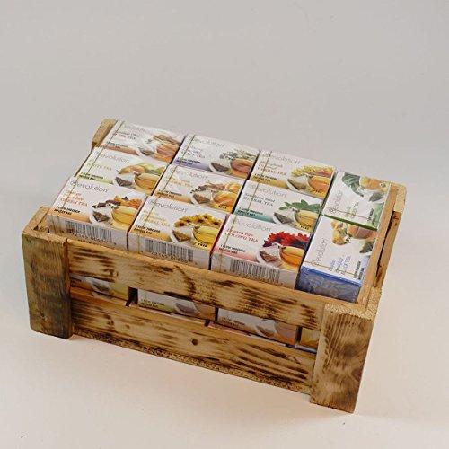 Revolution Tea - wooden box II of tea by thokika