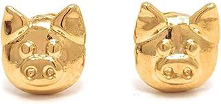Aretes de Cochito - Chapa Oro 22k - Elegantia Jewelry