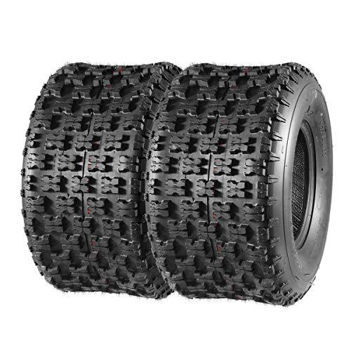 MaxAuto 20X11-9 20-11-9 Rear ATV Sport Quad Tires 20X11X9 6PR, Set of 2