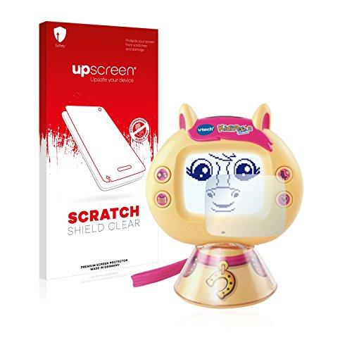 upscreen Protector Pantalla Compatible con Vtech KidiPet Touch 2 (Pony) Película Protectora – Transparente, Anti-Huellas