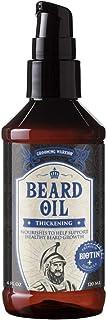 Grooming Warrior Beard Oil Thickening with Biotin, 4 Fl. Oz