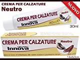 INNOVA SRL Crema brillante para zapatos neutro, 30 ml