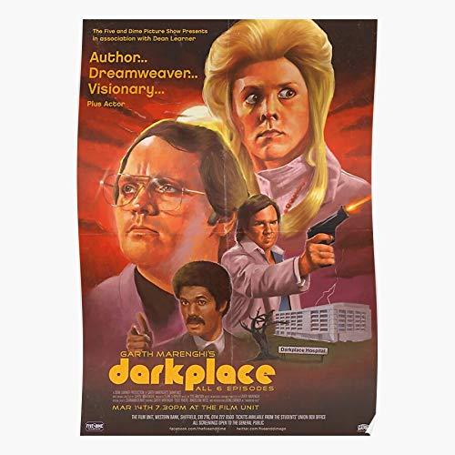 Learner Dean Visionary Garth Darkplace Marenghi Dreamweaver Author Regalo para la decoración del hogar Wall Art Print Poster 11.7 x 16.5 inch