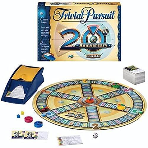 Trivial Pursuit 20th Anniversary by Hasbro
