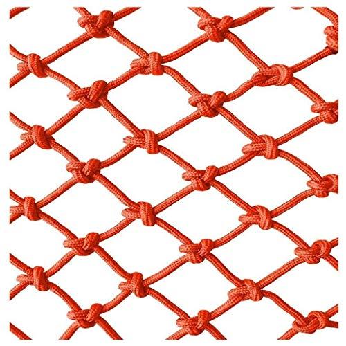YXB Child Safety Net Rood touw netto decoratie net, outdoor klimmen net outdoor touw netto balkon trap decoratie net kinderen netto huisdier veiligheid netto vogel touw netto balkon trap anti
