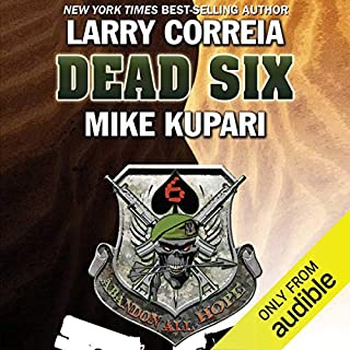 Dead Six audiobook cover art
