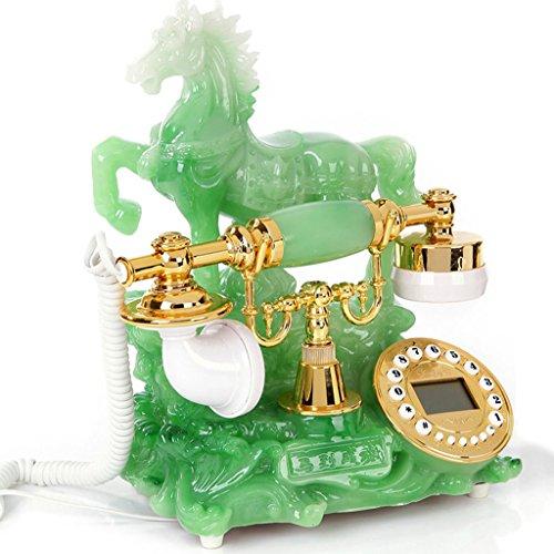 Liu Yu·maison créative,Mode jade vert résine caller lumineux bureau à domicile