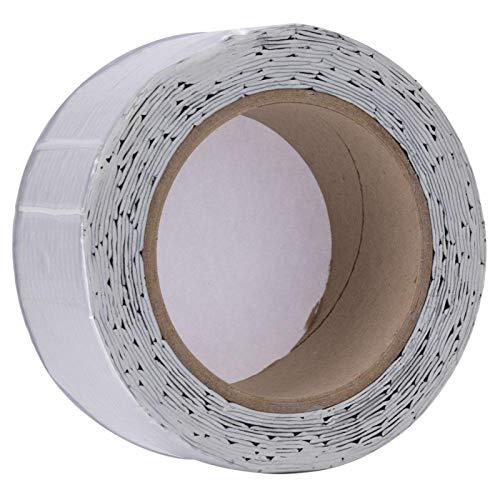 Cinta de goma butílica de larga duración Cinta de reparación de fugas Cinta de goma no - Alta calidad para el hogar para la oficina (papel de aluminio a cuadros)