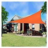 Toldo Vela Toldo Vela De Sombra, Impermeable Protección UV Verano Frio Fiesta Playa Ocio Toldo Toldo por Jardín con 3 Cuerdas (Size : 5x5x7.1)