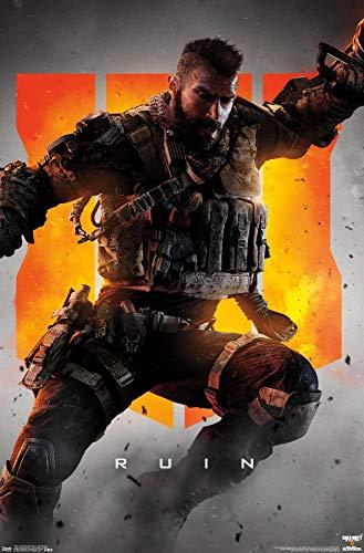 Trends International Call of Duty: Black Ops 4 - Ruin Key Art Wall Poster, 22.375' x 34', Unframed Version