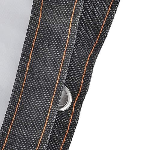 JY & WIN Plane PE transparant waterdicht met duurzame verlijmde rand regendichte heldere kas voor buiten (grootte: 5 x 5 m) 3 m x 3 m.