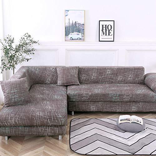 Allenger Funda de Fofá Elástica,Funda de sofá elástica Antideslizante, Funda de cojín de sofá Universal para Todas Las Estaciones, Funda a Prueba de Polvo para Muebles sofá-Color 10_235-300cm