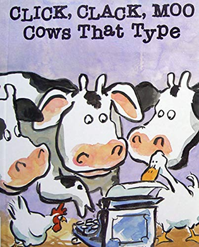 Click Clack Moo Cows That Type: Children's classic picture book (English Edition)