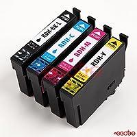 エプソン 用 エコッテ RDH-4CL (リコーダー) 4色 互換 プリンターインク インクカートリッジ セット
