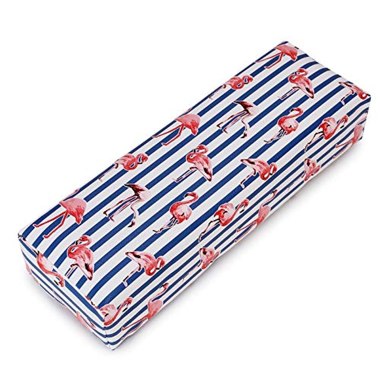 待って緯度待ってNail Art Hand Pillow Cushion Flamingo Design Salon Home Manicure Hand Rest Tool