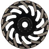 PRODIAMANT Disco de lija de diamante profesional Abrasiv, 180 x 22,2 mm, PDX82.919, 180 mm, para pavimento, asfalto, yeso, materiales abrasivos
