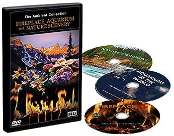 DVD Box Set - Fireplaces Aquariums and Natural Scenery - 3 DVDs with Aquarium Fireplace and Nature Landscapes Scenes