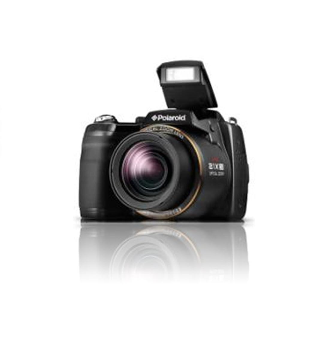 Polaroid IS2132-BLACK 16MP 21X Zoom Digital Still Camera with 2-Inch LCD (Black)