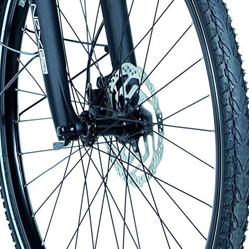FISCHER Damen – E-Bike Trekking VIATOR 4.0i (2020), grün matt, 28 Zoll, RH 44 cm, Mittelmotor 50 Nm, 48 Volt Akku im Rahmen Bild 5*