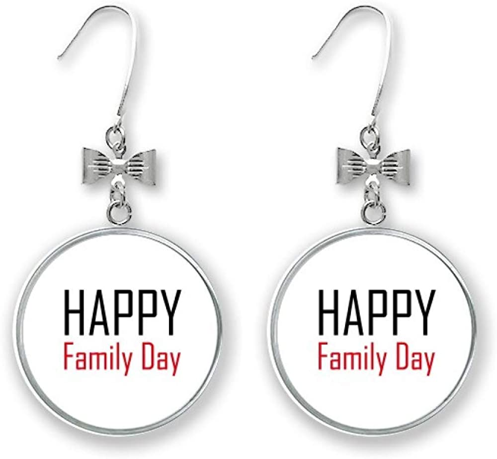 Celebrate Canada Family Day Blessing Bow Max Detroit Mall 74% OFF Earrings Festival Drop
