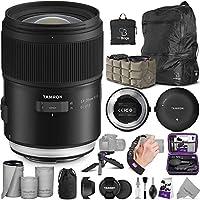 Tamron SP 35mm f/1.4 Di USD レンズ Nikon F + Tamron タップインコンソール Alturaフォトエッセンシャルアクセサリーとトラベルバンドル