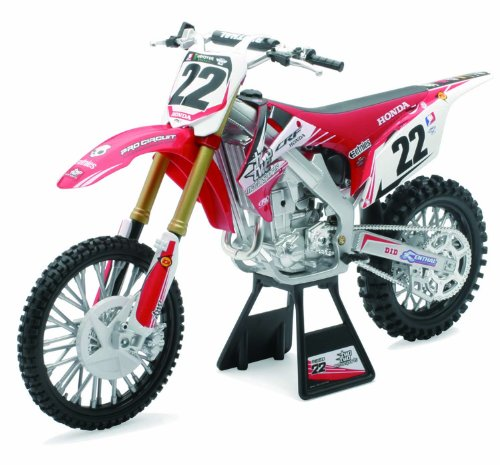 New Ray - 49393 - Véhicule Miniature - Moto Cross - Honda 2012 CRF 450 R - Echelle 1:6