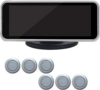 デジタルLCDディスプレイ車の駐車センサーキット、前部および後部車の逆のバックアップレーダーシステム、車の駐車支援、6/8警報センサーが付いている車のレーダー探知器