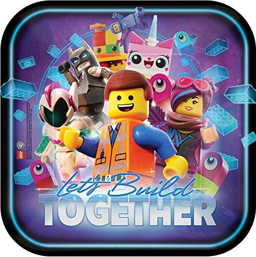 Lego Movie 2 - Assiette 23 cm, multicolore, 7AM551711