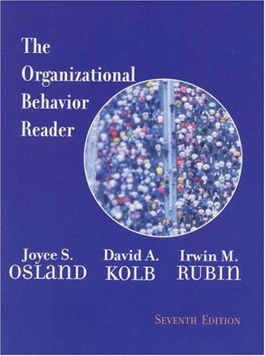 The Organizational Behavior Reader (7th Edition)