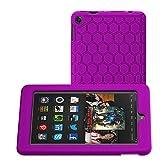 Bepack Fire 7 2015 Funda, Silicona Peso Ligero Durable Cover Case Potectora para Amazon Fire 7 Kids Edition Tablet (7'Pantalla 5th generación)