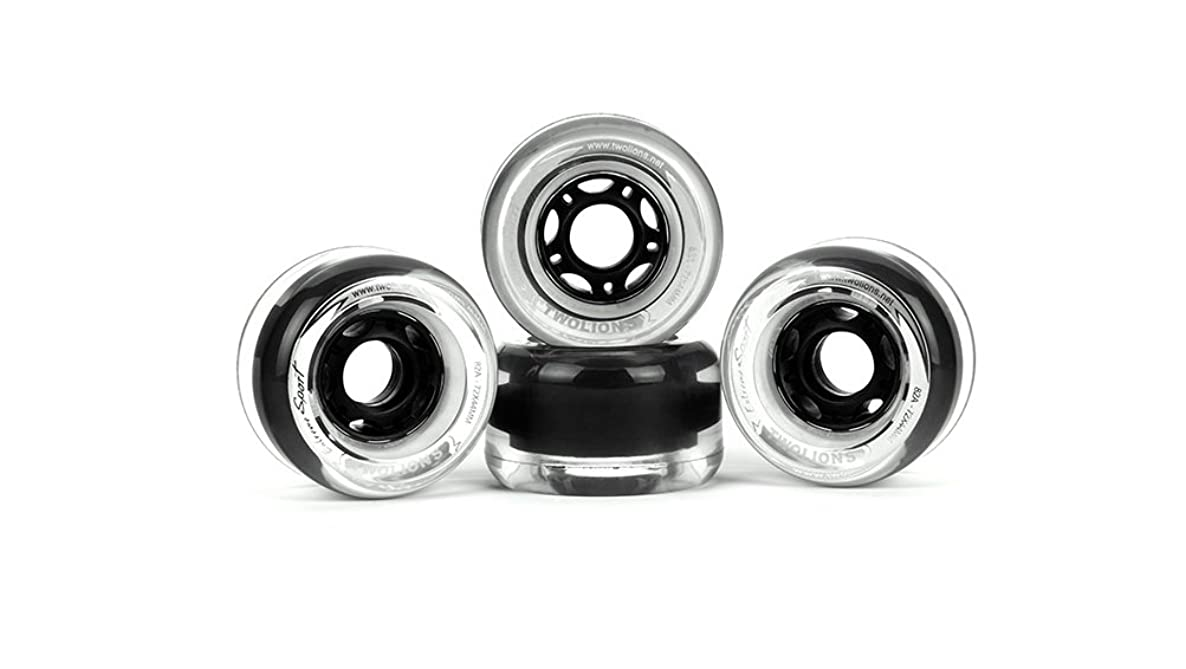 TwoLions Grom Drift skate Pro Skates,Freeline Sports alloy Bracket With 72 mm44 mm PU Wheels With ABEC-7 High-end Bearings