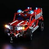 icuanuty Kit de Iluminación LED para Lego 42075, Kit de Luces Compatible con Lego Technic - Equipo de Primera Respuesta (No Incluye Modelo Lego)