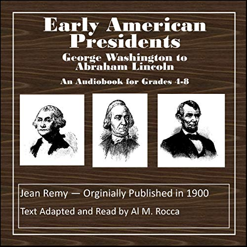 Stories of Early American Presidents audiobook cover art