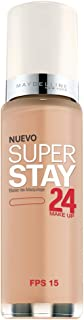 Maybelline New York Super Stay 24Hr Makeup, Classic Beige, 1 Fluid Ounce