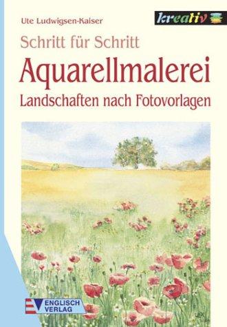 Aquarellmalerei, Landschaften nach Fotovorlagen