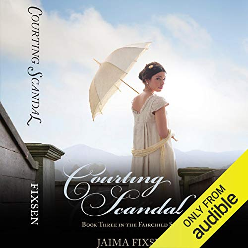 Courting Scandal audiobook cover art