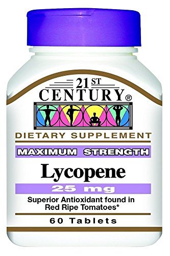 21st Century Lycopene 25Mg 60 Count (2 Pack)