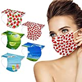 50 Pcs Disposable Summer Face_Masks for Adults,Beach Printed...