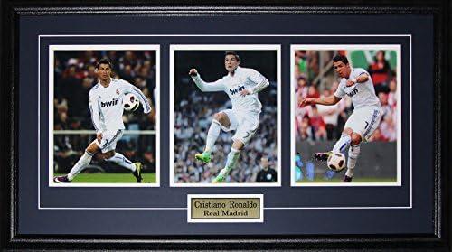 Midway Memorabilia Cristiano Ronaldo Real Madrid La Liga Spanish League Football 3 Photo Frame product image