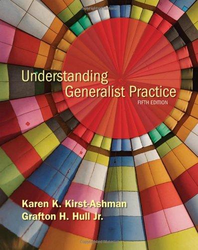 Understanding Generalist Practice (Available Titles...