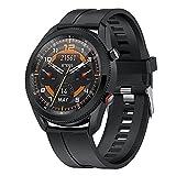 ZGZYL L61 Llamada Bluetooth Smart Watch New Fun Watch Dial Rotary Switch Función con Presión Arterial Y Monitor De Ritmo Cardíaco Reloj Deportivo,A